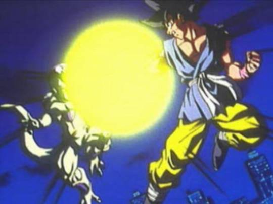 scene introduction opening jeu de combat dragon ball final bout