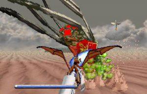 boss mutant désert panzer dragoon saturn
