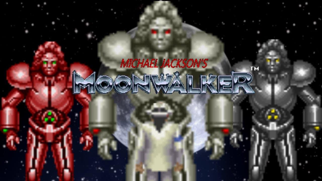 michael jackson mode robot jeu moonwalker