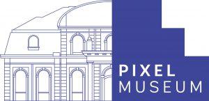 logo officiel du musee du jeu video de strasbourg pixel museum