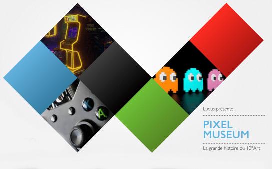logo présentation pixel museum musee du jeu video strasbourg