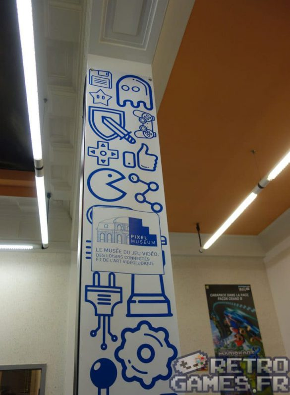 banderole officielle theme graphique pixel museum musée du jeu vidéo strasbourg
