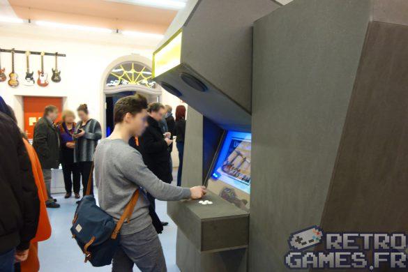 borde de jeux arcade geante hall du pixel museum musée du jeu vidéo strasbourg