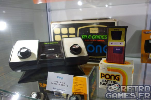 vieille console pong 1975 pixel museum musée du jeu vidéo strasbourg