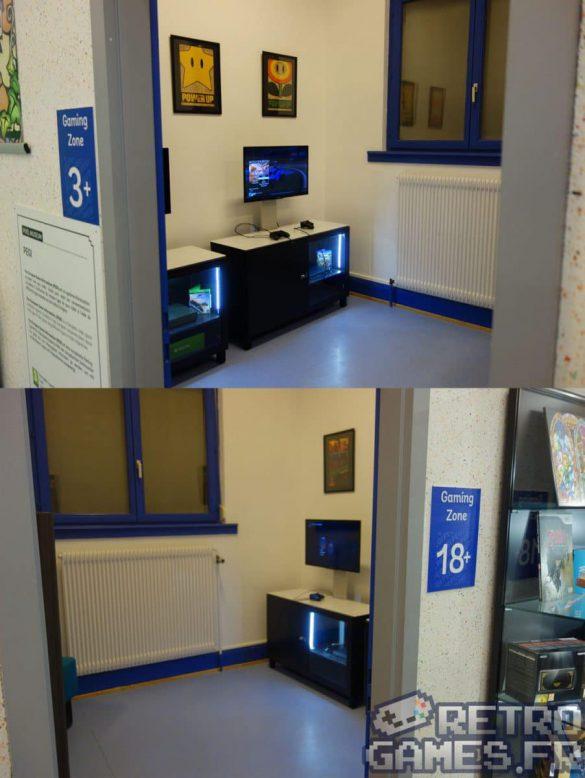 gaming zone enfant et adulte pixel museum musée du jeu vidéo strasbourg
