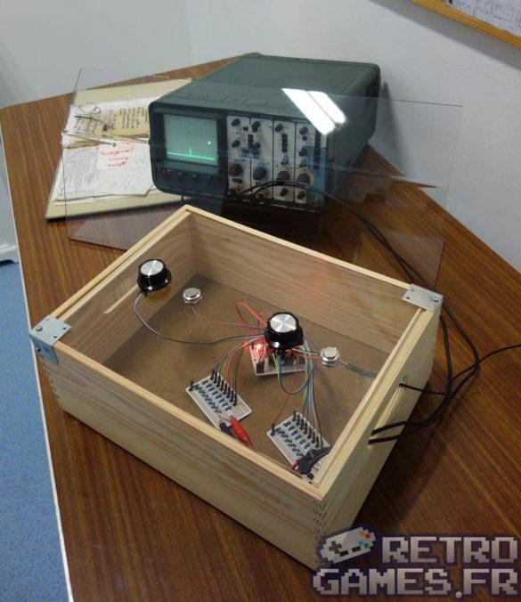 mini console pong avec oscilloscope pixel museum musée du jeu vidéo strasbourg