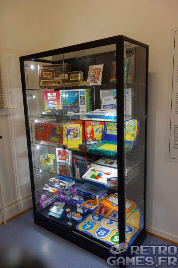 mini consoles jeux educatifs vtech pixel museum musée du jeu vidéo strasbourg