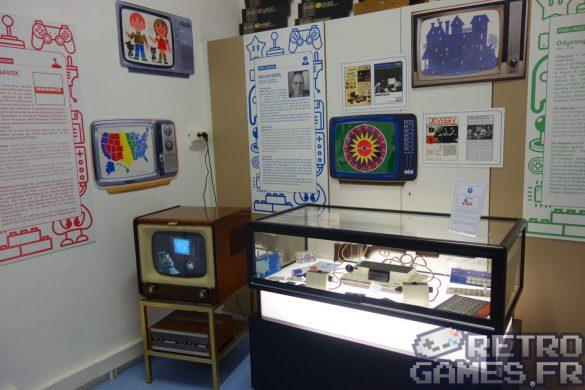salle histoire premieres consoles jeux video pixel museum musée du jeu vidéo strasbourg