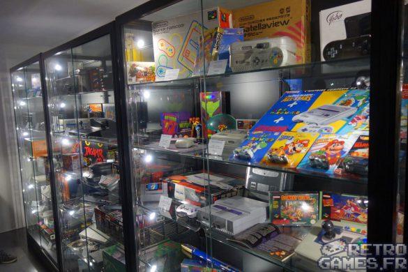salle collections consoles 8bits 16bits 32 bits pixel museum musée des jeux vidéo schiltigheim