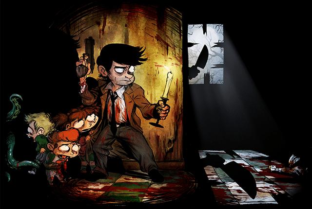 artwork du héros smith du jeu vidéo 2Dark