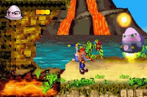 boss n-trance boss final du jeu N-tranced crash bandicoot gba