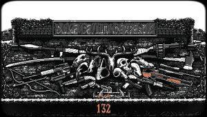 mur des armes et des cranes d'animaux Nongunz