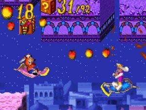 niveau 1001 nuits orient tapis volant dans jeu crash bandicoot ntranced gba