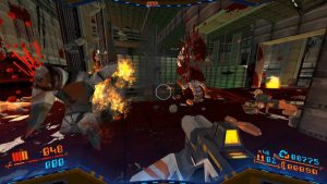 vague d'ennemis fps rogue like doom like difficile Strafe ps4