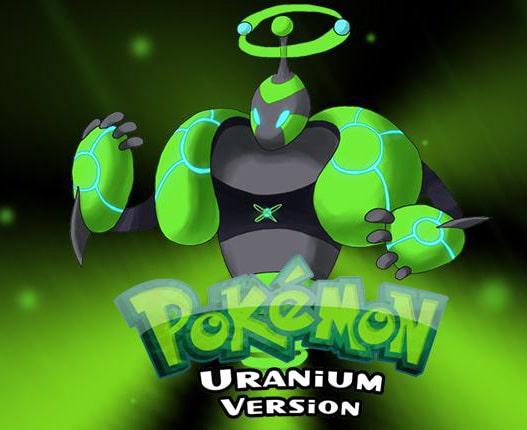 urayne mascotte pokémon uranium
