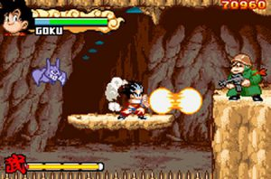 kaméhaméha dragonball advanced adventure game boy advance