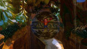 niveau boulder dash avec boule crash bandicoot 2 remaster