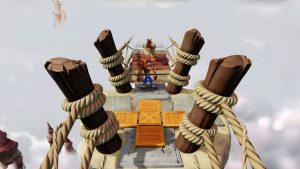niveau du pont highway to hell crash bandicoot 1 n-sane trilogy