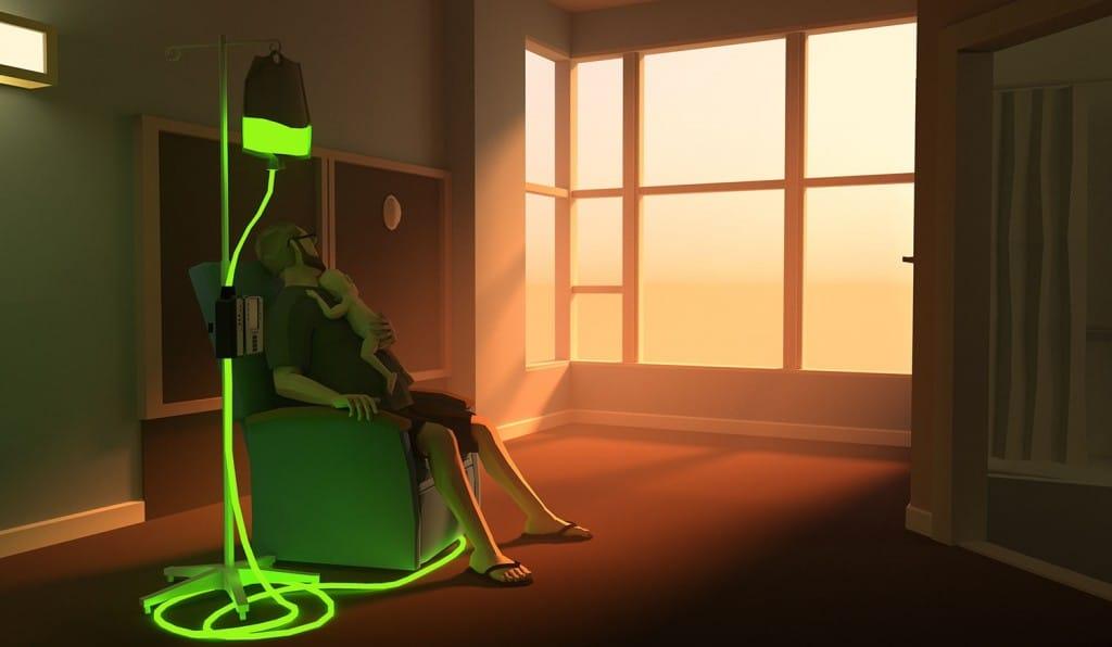 image tirée du jeu narratif That dragon cancer