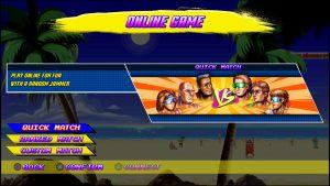 mode en ligne match rapide match classé windjammers ps4