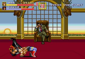 boss final mister x streets of rage 2 mega drive