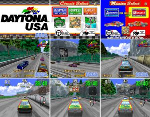 daytona usa jeu de course arcade sega model 2