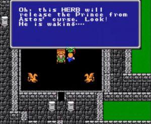 harbe réveil prince final fantasy I