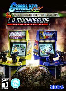 bornes arcade avec pistolets la machineguns sur sega m3