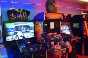 borne d'arcade alien 3 the gun sur sega model 1