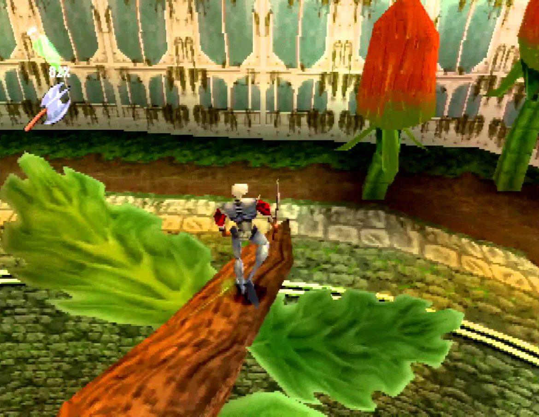 niveau kew gardens avec les potirons citrouilles dans medievil 2