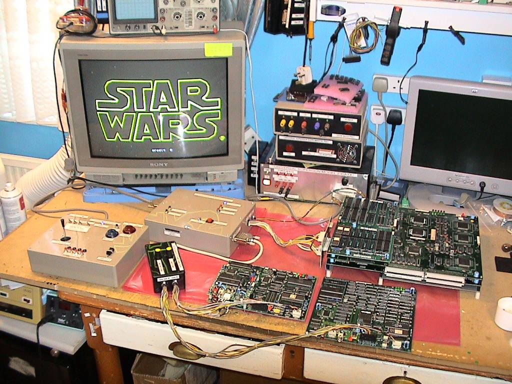 PCB du systeme arcade model 1 sega