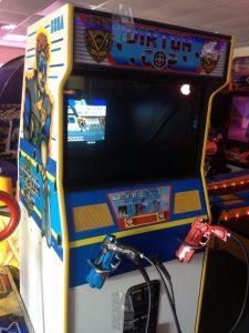 borne d'arcade virtua cop sega model2