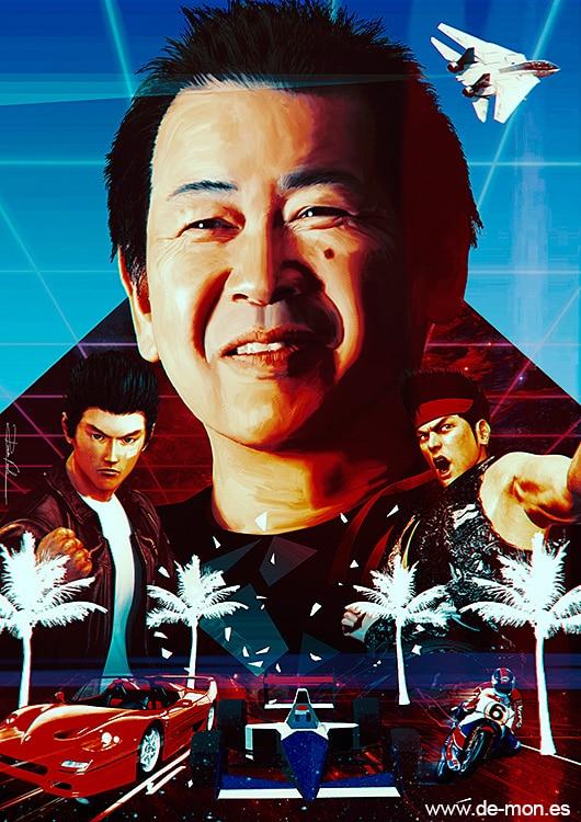 yu suzuki responsable arcade chez Sega