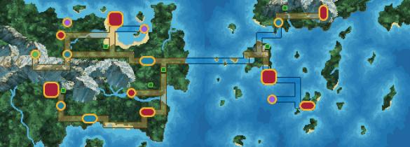 carte complète région de tandor pokemon uranium