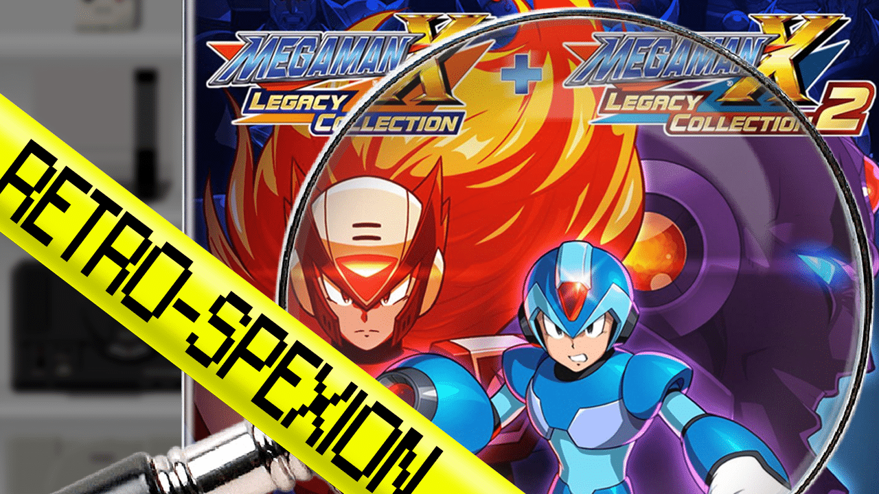 emission retrospexion sur mega man x legacy collection