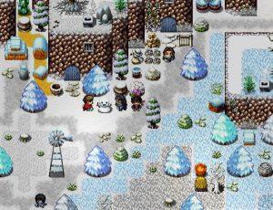 village enneigé montagne Vairon's Wrath