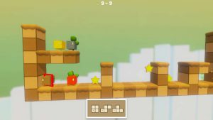 multiple choix de blocs dans tetra escape android