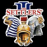 logo du jeu vidéo de gestion The Settlers 3 sur PC