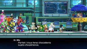 docteur willy et ses robots contre mega man 11