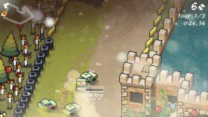 circuit angleterre dans jeu dematerialisé neoretro super pixel racers xbox one
