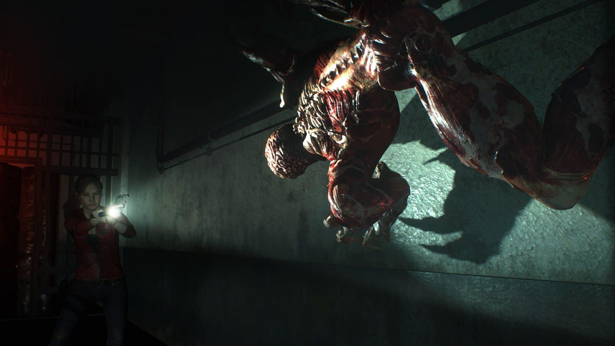 licker monstre dcharne resident evil 2 remake 2019