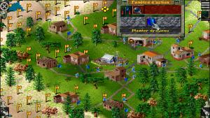 capture du jeu de stratégie the settlers 2 sur PC