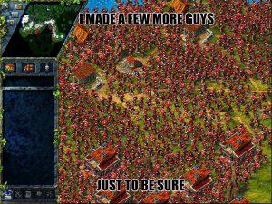 meme the settlers 3 avec armée