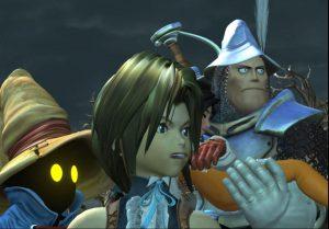 personnages jouables Steiner Djidane Bibi Dagga final fantasy ix