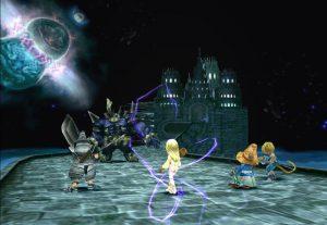 combat avec transe de dagga dans final fantasy 9 sur playstation