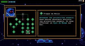 arbre des capacités de la boutique de the messenger sur pc steam