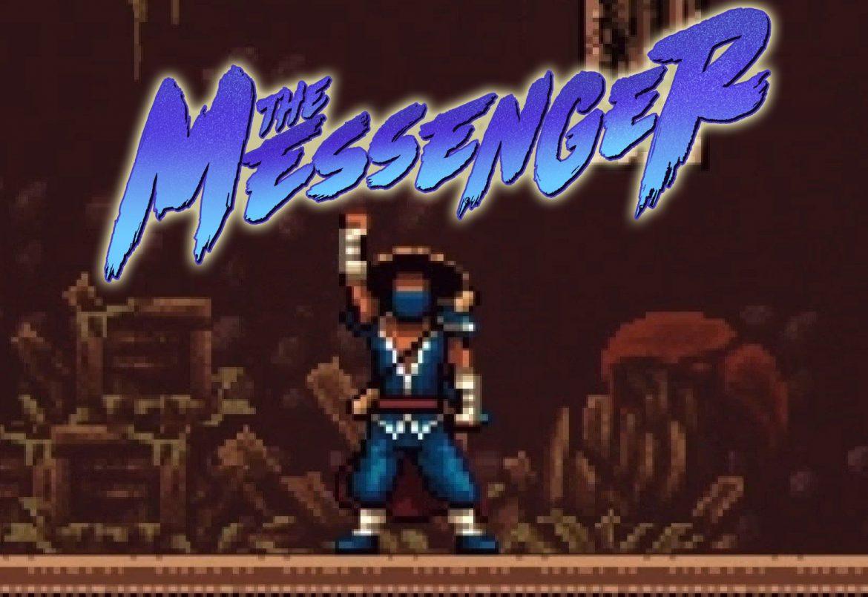 heros et logo du jeu video the messenger devolver digital 2018