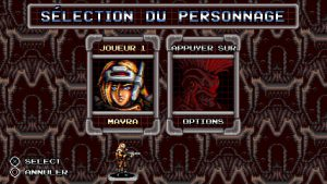 mavra personnage fille blonde blazing chrome