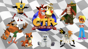 personnages de base du jeu crash team racing