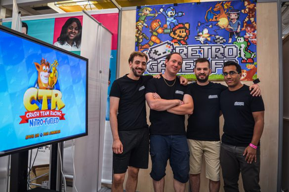 equipe retro-games.fr start to play 2019